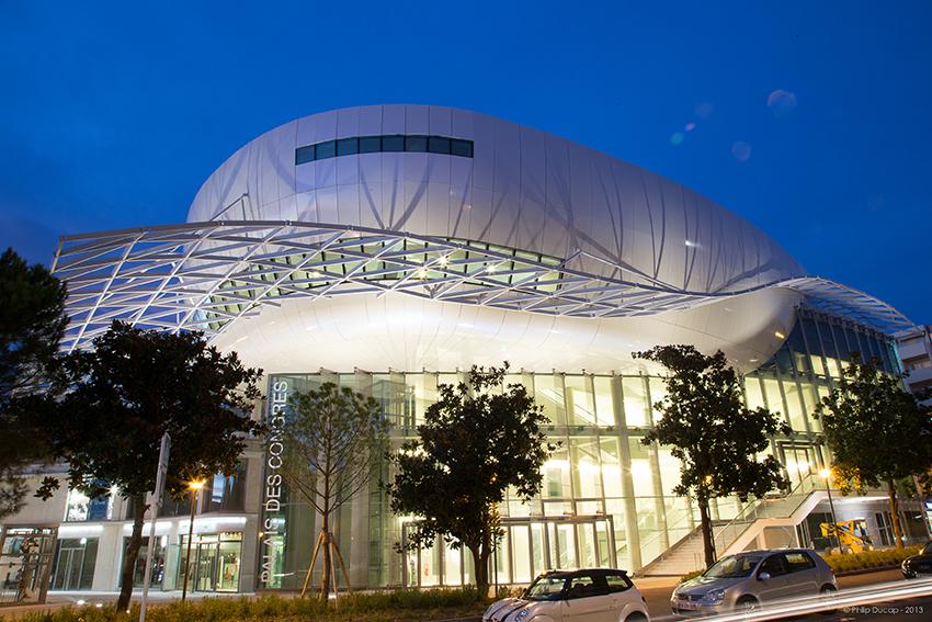 Palais des Congrès Antibes-Juan-Les-Pins de Nuit