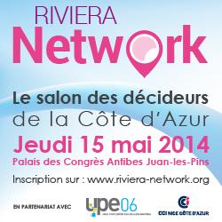 Riviera Network bannière 250x250 pixels