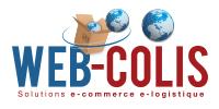Logo AD'HOC ROUTAGE - WEB COLIS