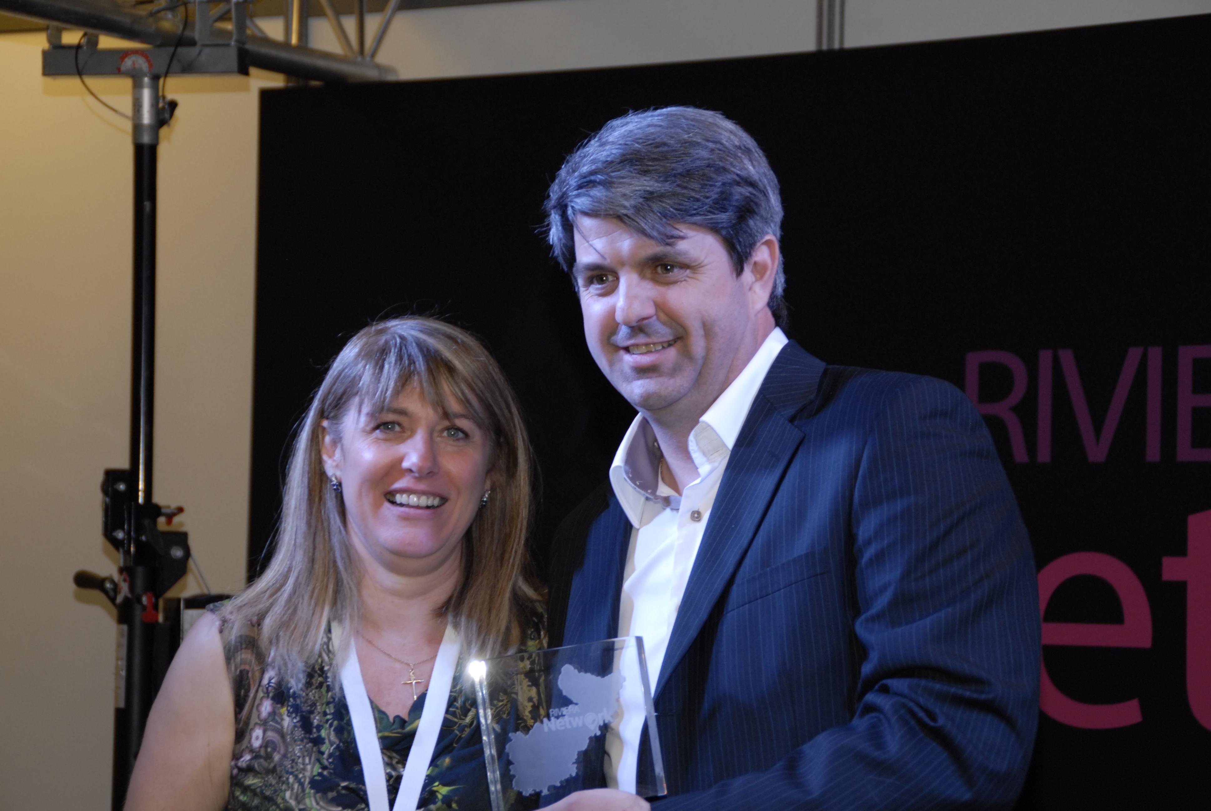 Trophée RH remis à la société Business Carte