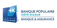 Logo BANQUE POPULAIRE COTE D'AZUR