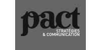 Logo PACT STRATEGIES & COMMUNICATION